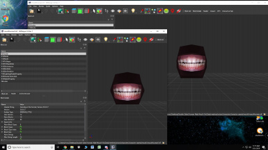 Double Sided Vertex Human Mouth Fix