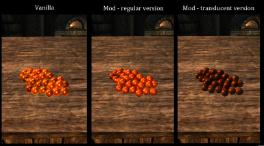 Salmon Roe model replacer 3D