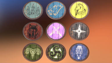 Purchasable Holds guard's shields