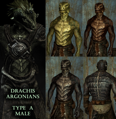 Drachis Argonians Mod (Old Version)
