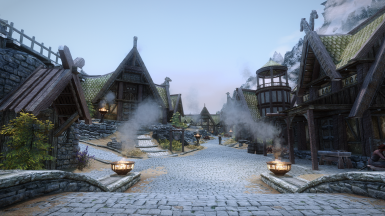 Ray's Parallax HD Whiterun Street and Road Textures