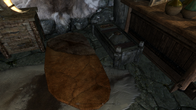 Riverwood stormcloak bedroll and Chest