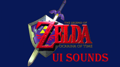 the legend of zelda Ocarina of Time UI sounds replacer