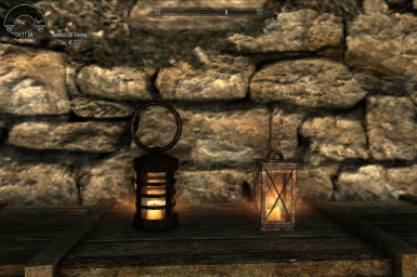 Two lantern versions avaliable