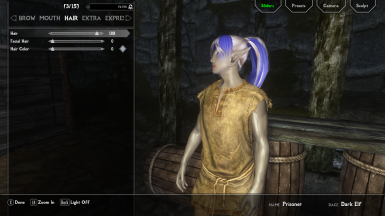 Miishelvenwarriors Hair and eyes mod at Skyrim Nexus - mods and
