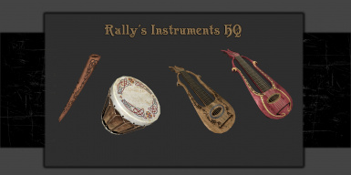 Rally's Instruments HQ