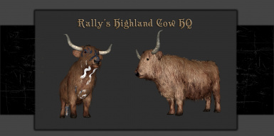 Rally's Highland Cow HQ