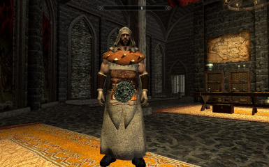 Barbarian Robe Outfit