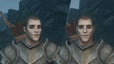 Younger Male Face (Fix male head normal)