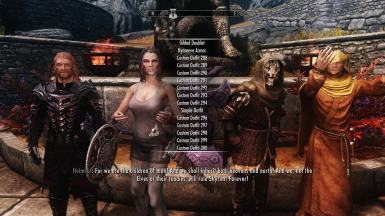 Dress Up Lover's NPC Outfit Changer - LE at Skyrim Nexus