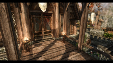 Pompous Dragonsreach Door