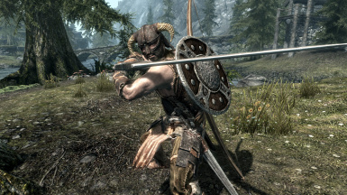 The Classic Nord - AllGUD is the only mod capable of favorite Bow & Shield on Back while unequipped