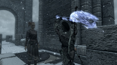 Trying to use my All-Axess Pass at the College of Winterhold