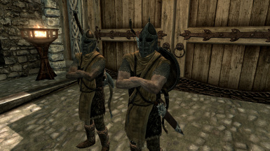 New in 1.5: Ever wonder where guards kept their bows? (Won't display until they swap equipment))