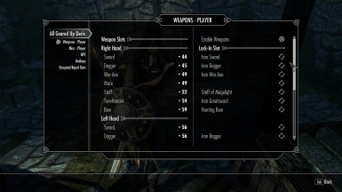 The Default Player Slots