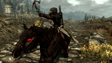 ♪ Argonian Ranger with a Big Iron on his hip ♫ For New Vegas, use ATTT by Quicksilver500