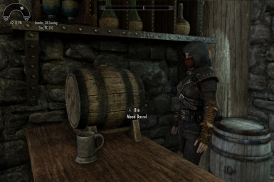Mead barrel