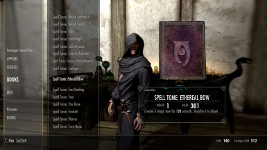 SPELL TOME: ETHEREAL BOW