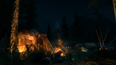 With a realistic light mod on and the lights my campfire adds just awesome