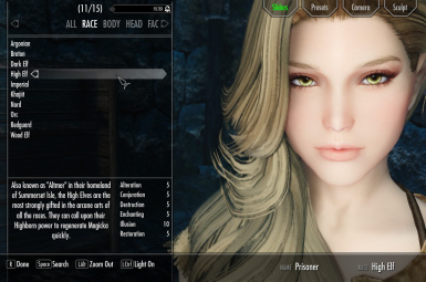 High Elf Preset - Mid 2