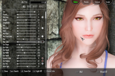 Wood Elf Preset Acasha 2