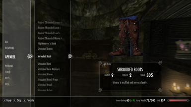 SHROUDED BOOTS