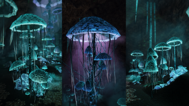 Rally's Blackreach Mushrooms