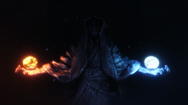 Winterhold Statue - Animated with ENB Lights LE