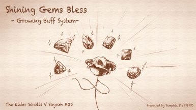 Shining Gems Bless - Growing Buff System