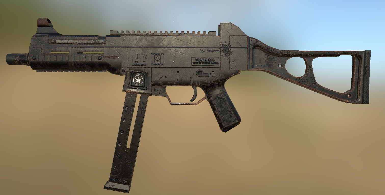 H and K UMP 45 at Fallout 4 Nexus - Mods and community