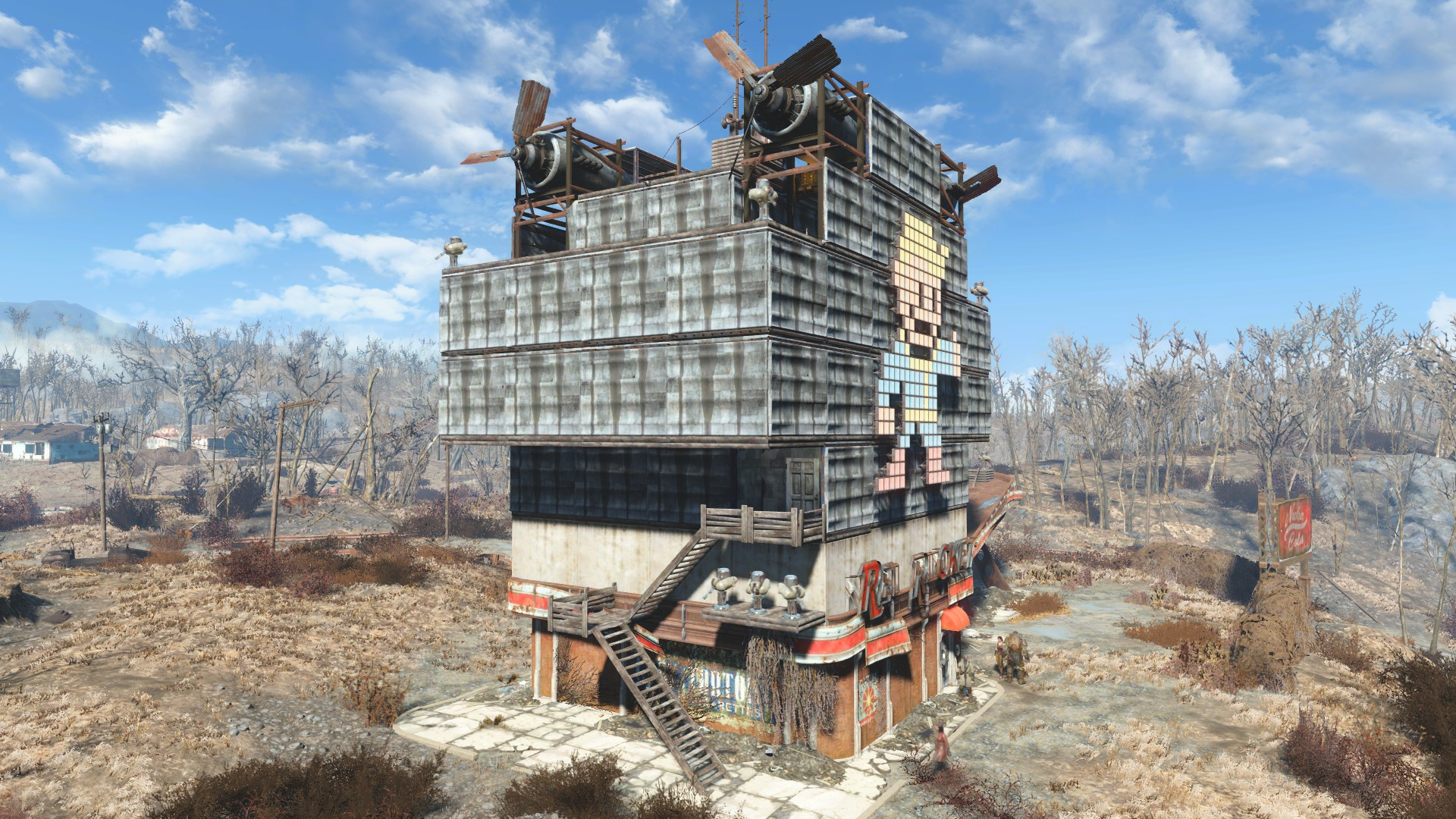FO4 Architecture Red Rocket Player Home At Fallout 4 Nexus