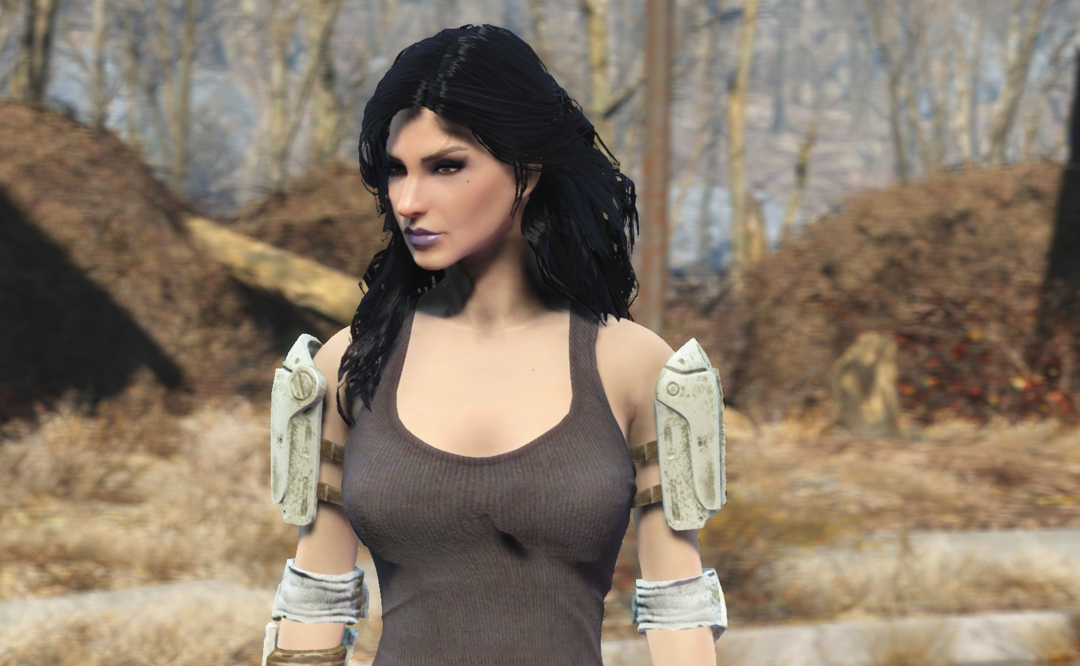 Yennefer Hair With Physics Fallout 4 Mod - Www imagez co