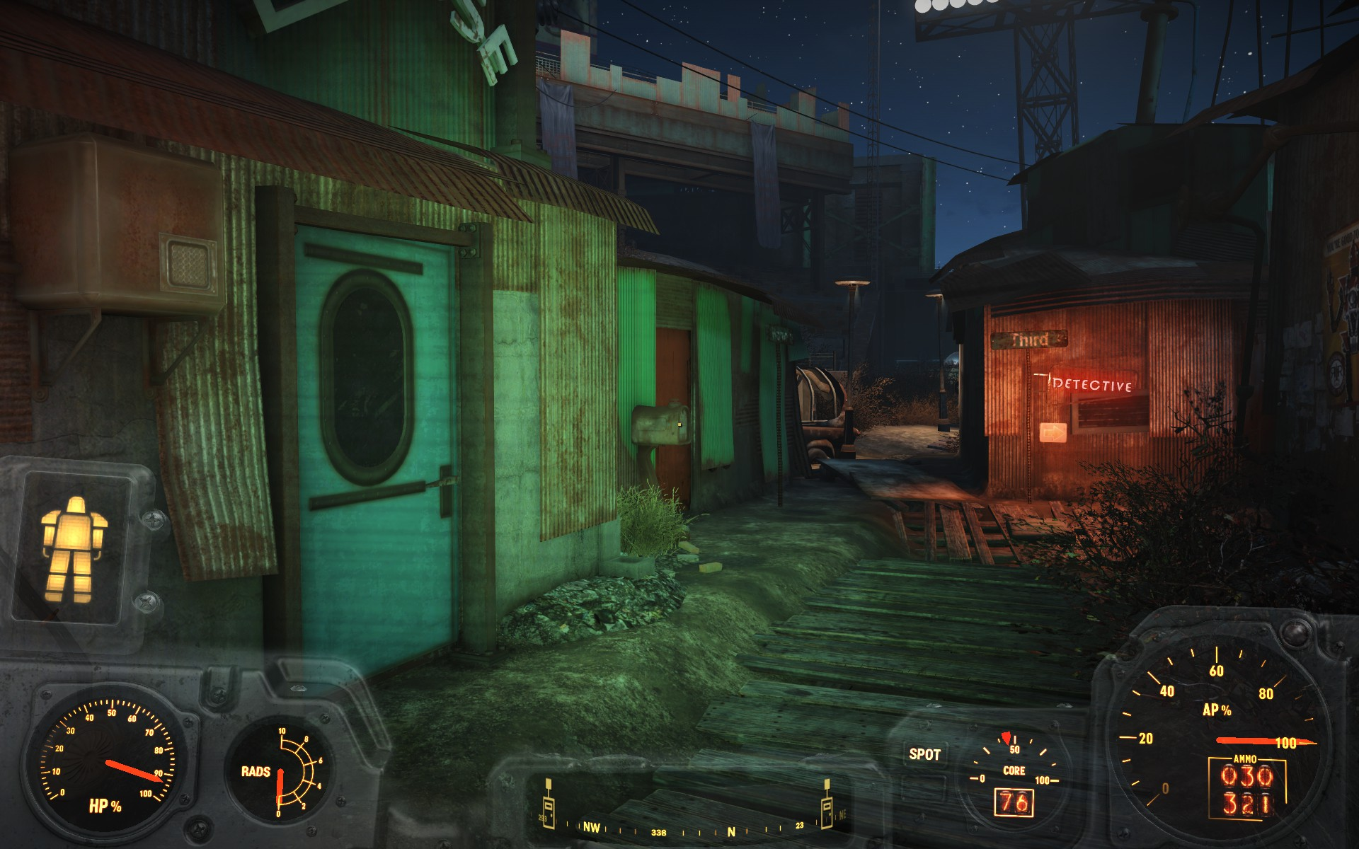 fallout 4 how to use flashlight