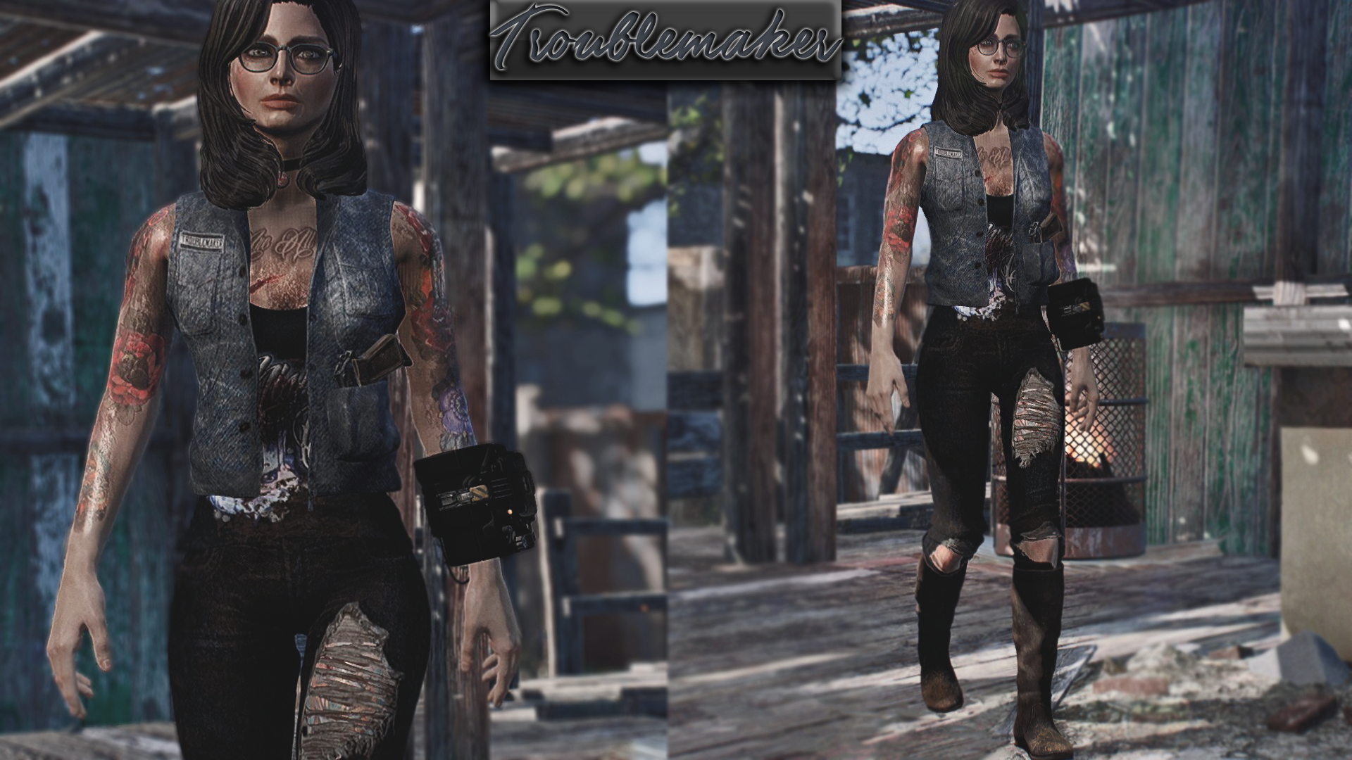 Troublemaker Outfits Collection Standalone CBBE Bodyslide at ...