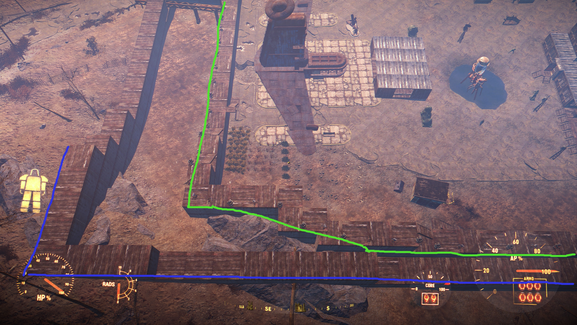 starlight drive in adjusted and a little bit expanded at fallout 4