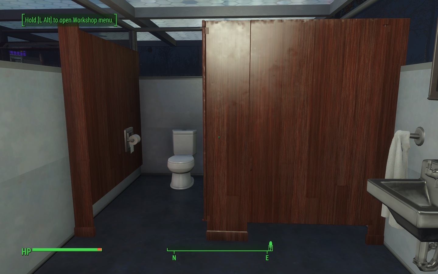 bathroom stall retexture at fallout 4 nexus mods and community - Bathroom Stall
