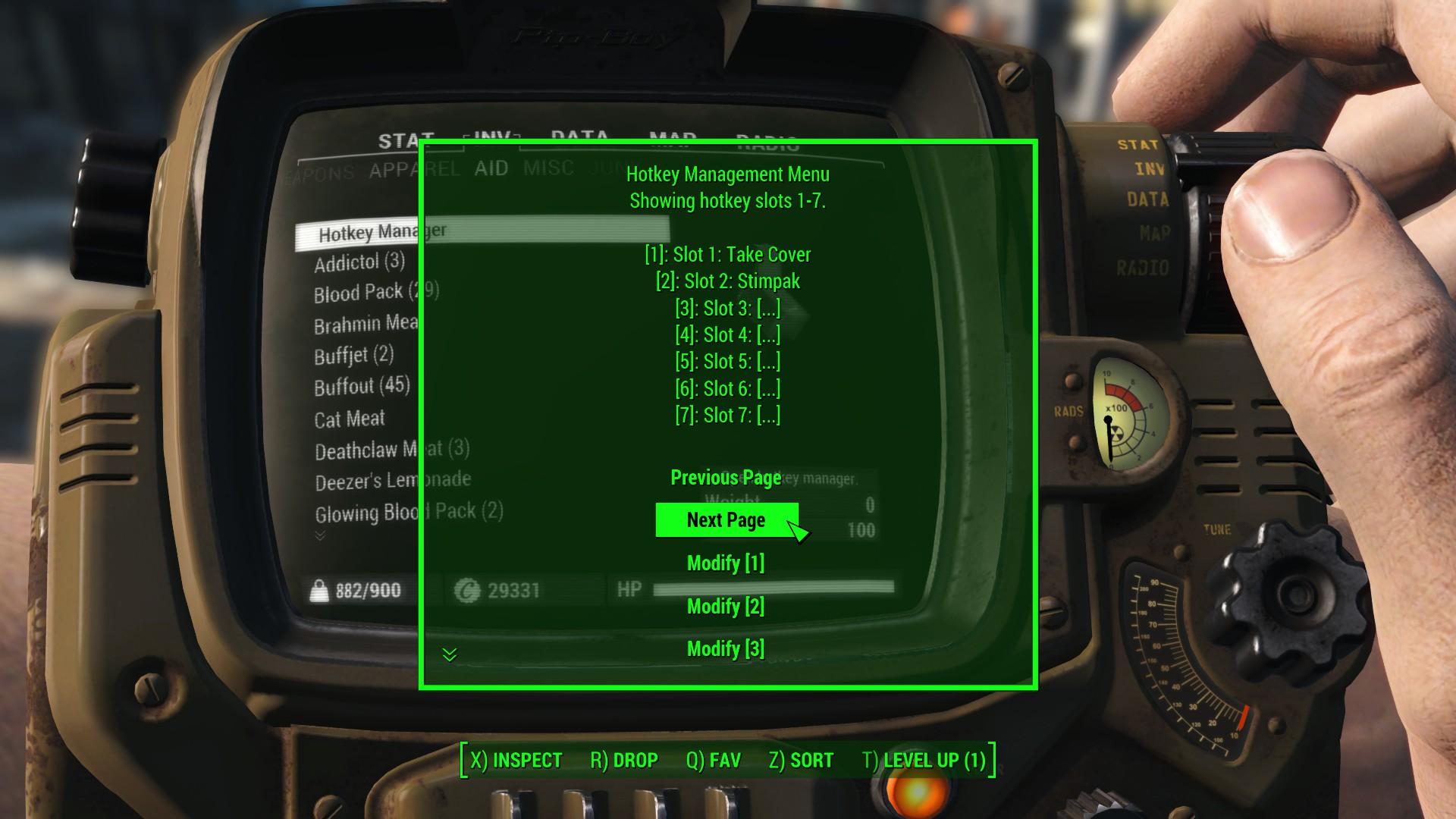 FO4 Hotkeys at Fallout 4 Nexus - Mods and community
