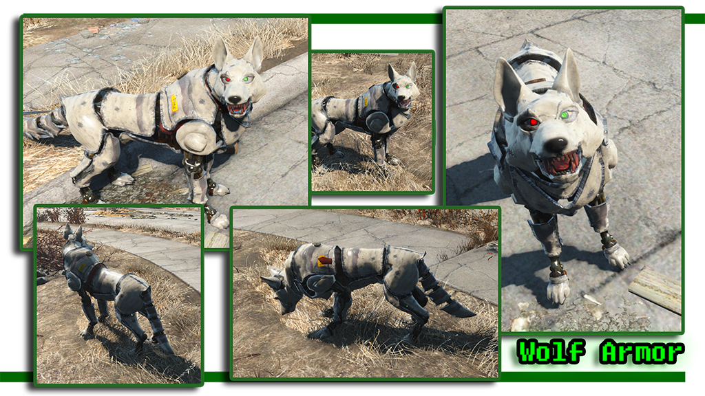 Fallout  Dog Breed Mods