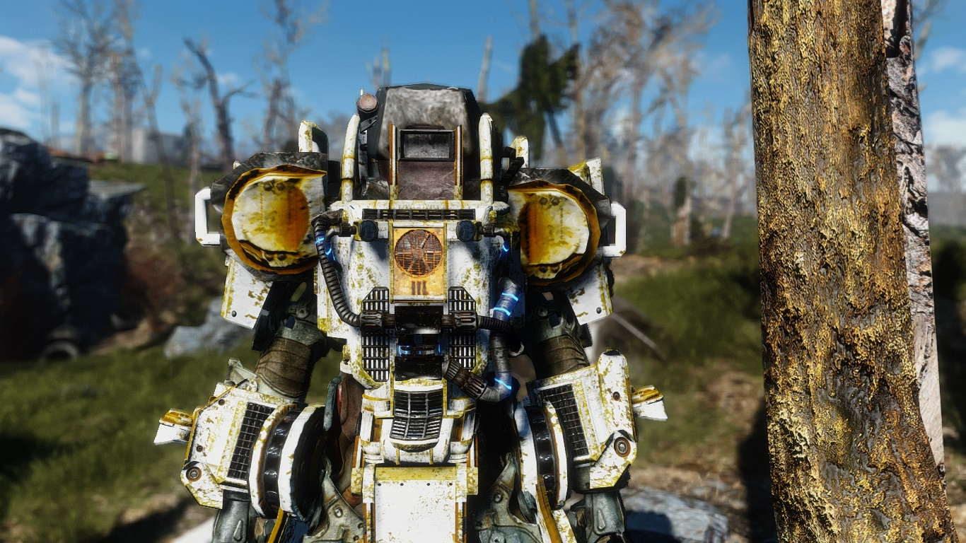 Standalone Construction Power Armor для Fallout 4 - Скриншот 3