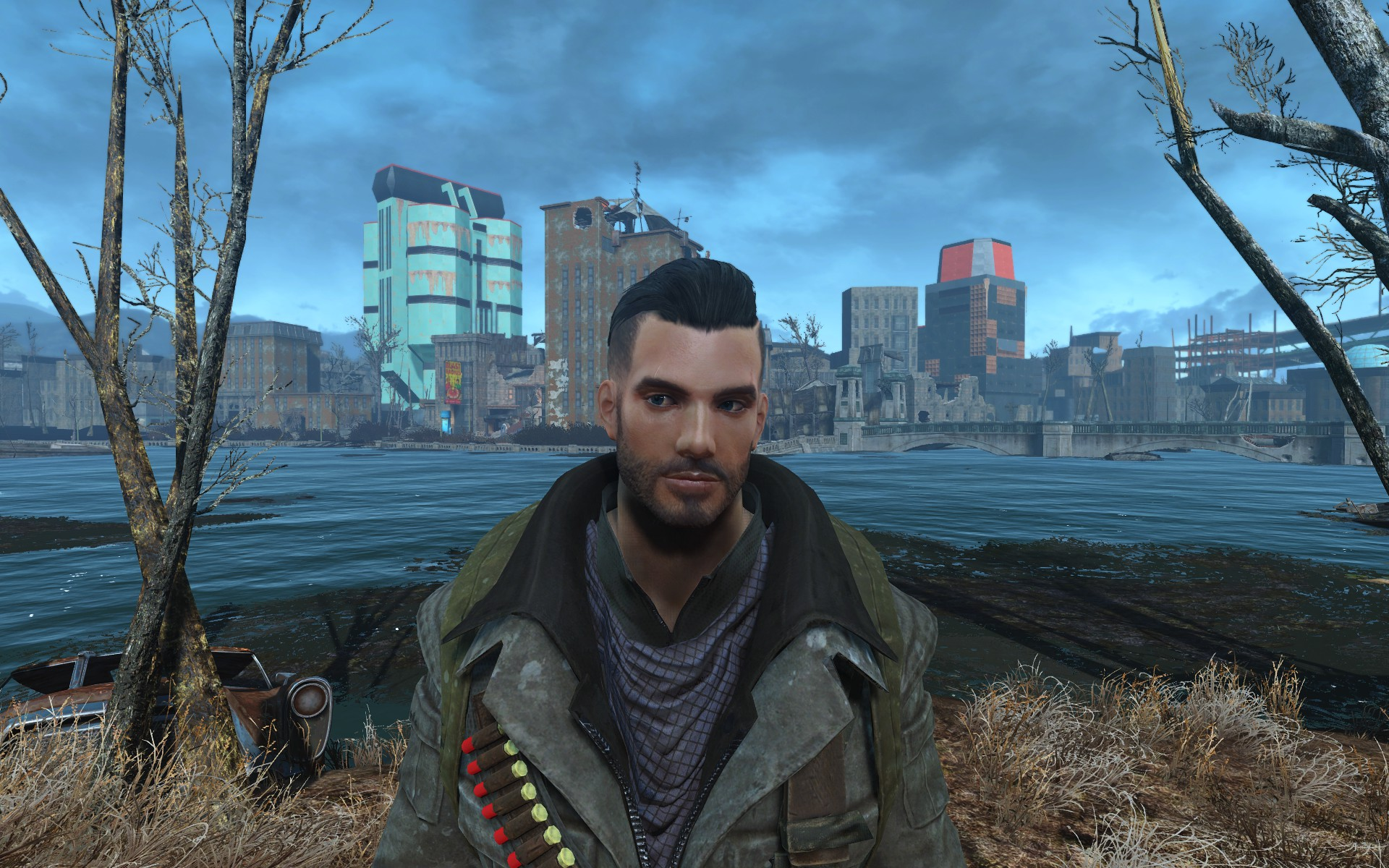 handsome hank attractive male preset and save game at fallout 4