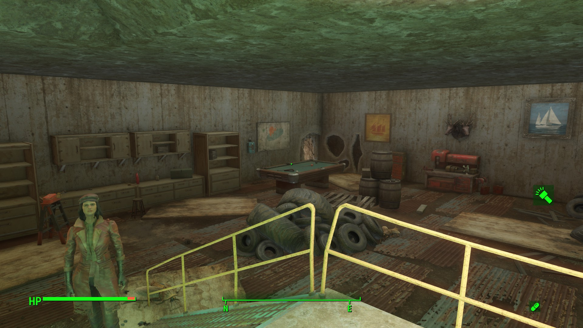 santuary bunker at fallout 4 nexus mods and community