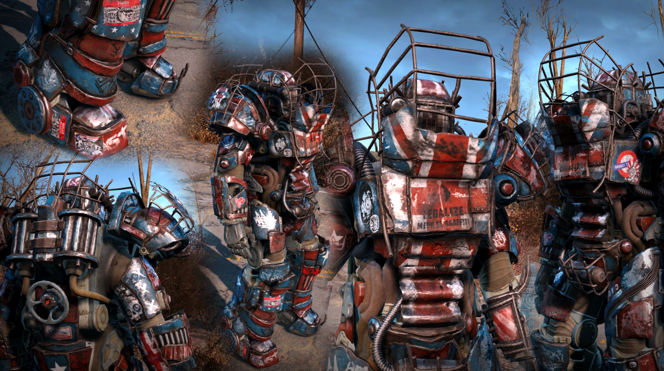 raider power armor chop shop at fallout 4 nexus mods and community