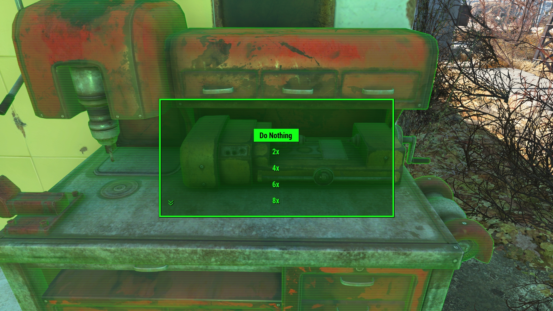 Fallout  Increased Build Limit