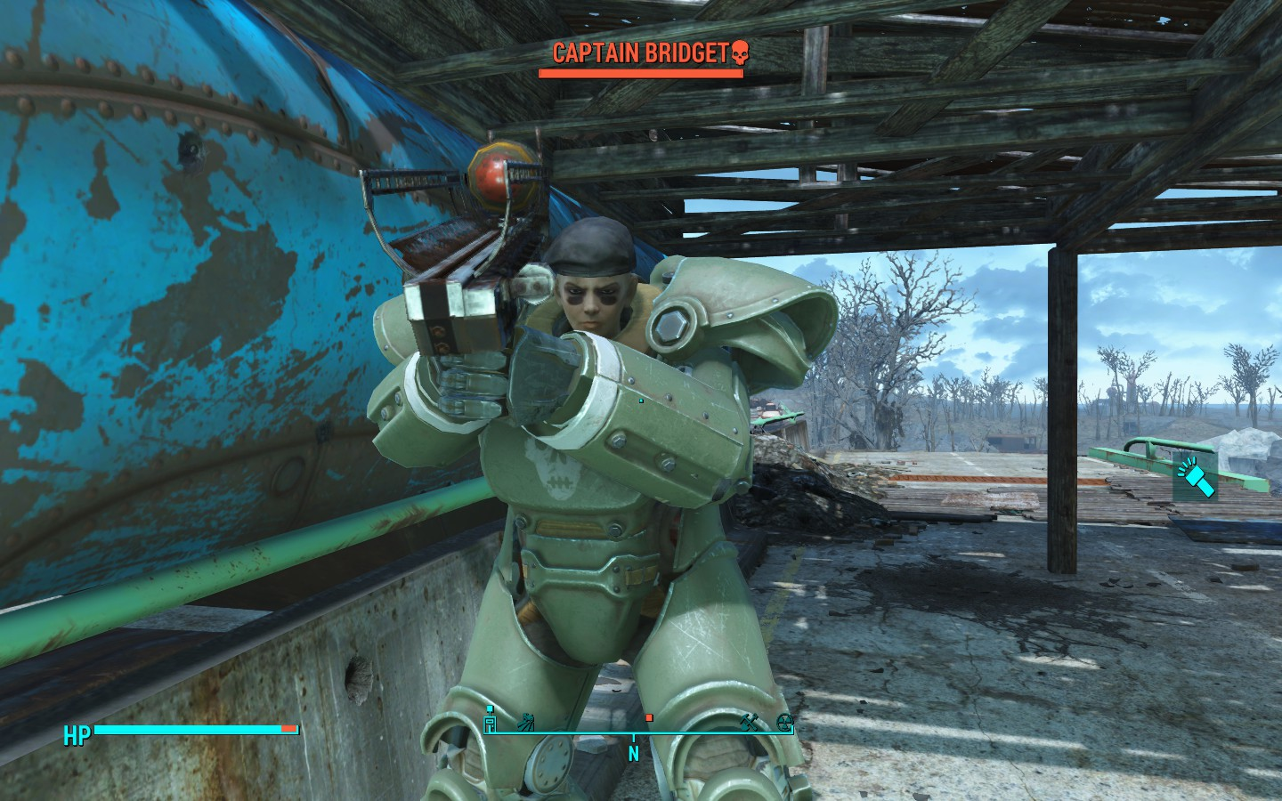 fallout 4 how to find the gunners