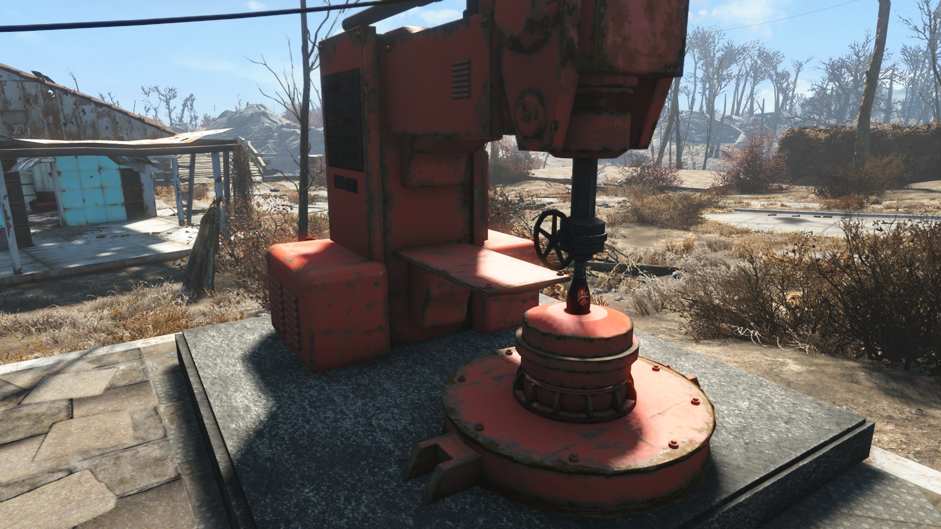 Nuka Cola Filling Machine для Fallout 4 - Скриншот 3