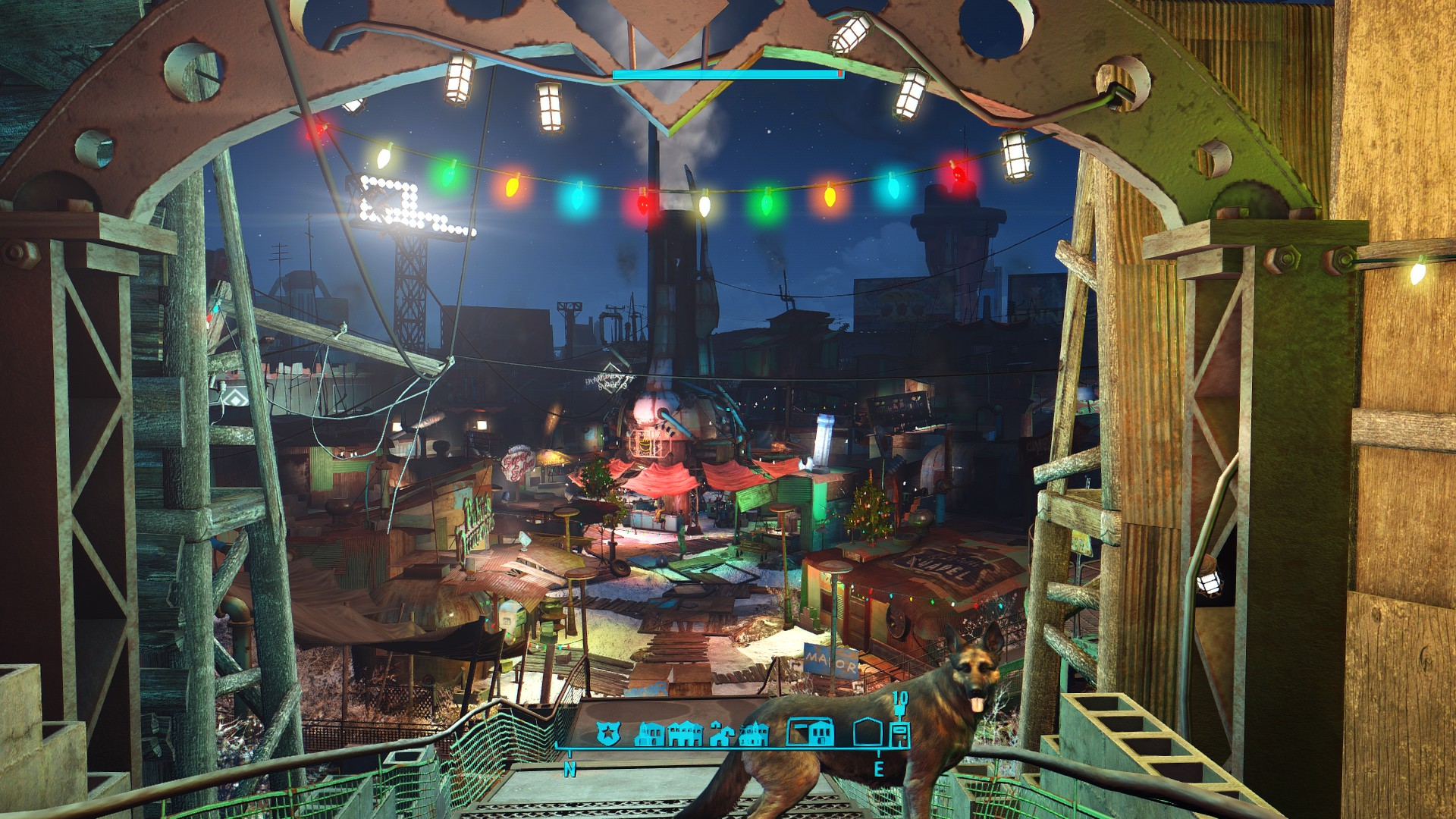 Extended Diamond City Holidays для Fallout 4 - Скриншот 1