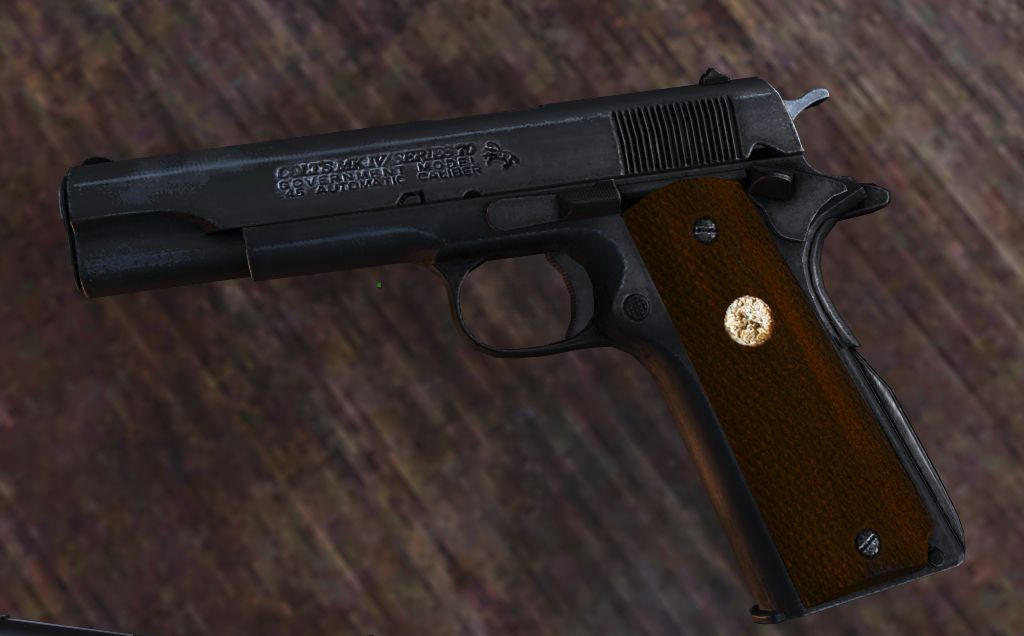 Colt 1911 Series 70 Government Model at Fallout 4 Nexus - Mods and