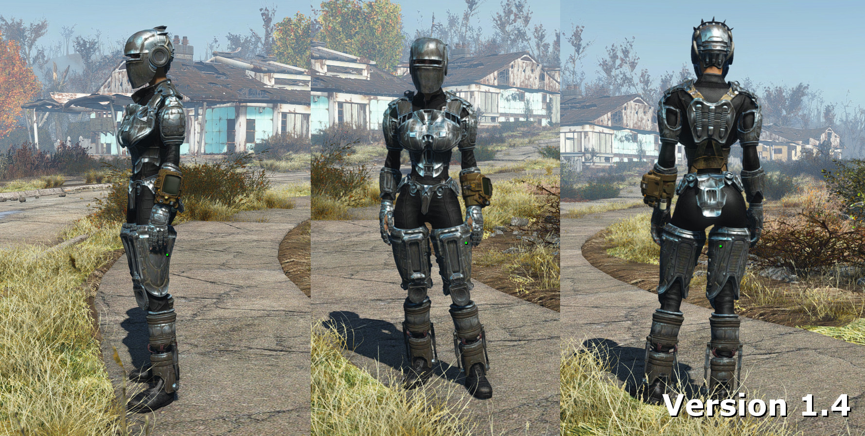 Best Place To Buy Kitchen Faucets Cbbe Every Armor Parts With Bodyslide Fallout 4 Mods