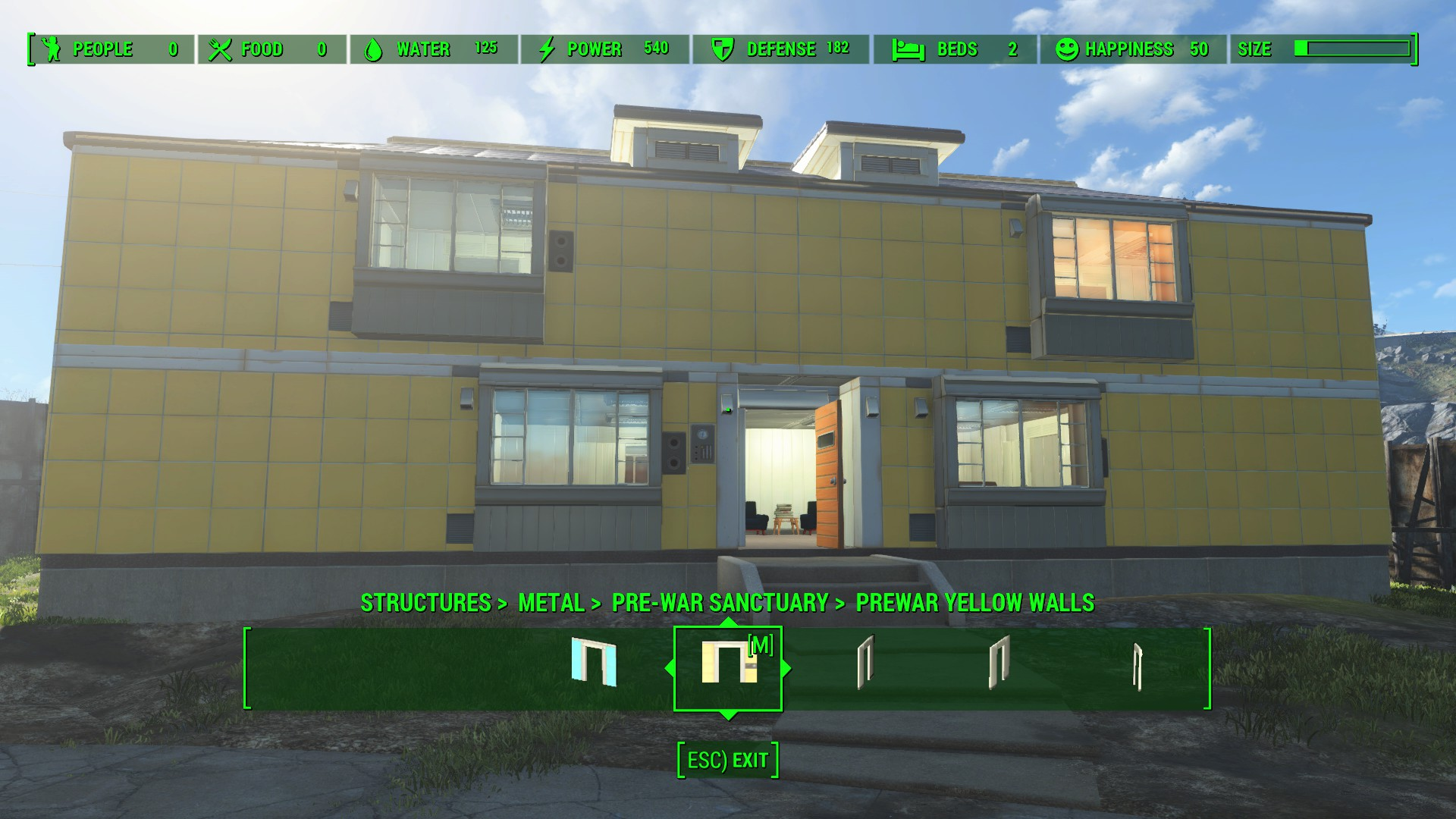 rebuild modular sanctuary pre war and post war build set at fallout 4 nexus mods and community. Black Bedroom Furniture Sets. Home Design Ideas
