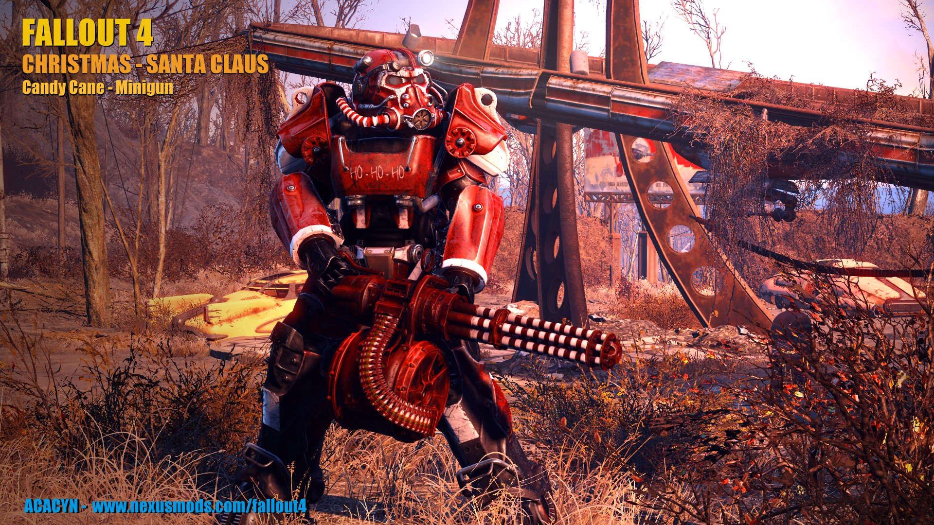 Christmas - Santa Claus Power Armor at Fallout 4 Nexus - Mods and ...